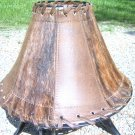 Cowhide Leather Lamp Shade 0177 ec