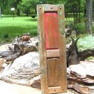 Primitive OLD Farmhouse Panel Door with old Clavos Nails ec