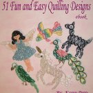 51 Fun and Easy Quilling Designs PDF Ebook Emailed to You