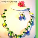 "Hand-made beads ""The Spring has come""!"