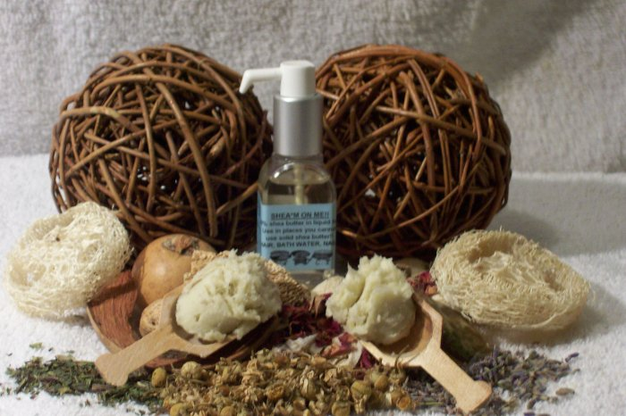 NIGERIAN NECTAR....1oz (great hair/skin/face moisturizer), shea butter oil