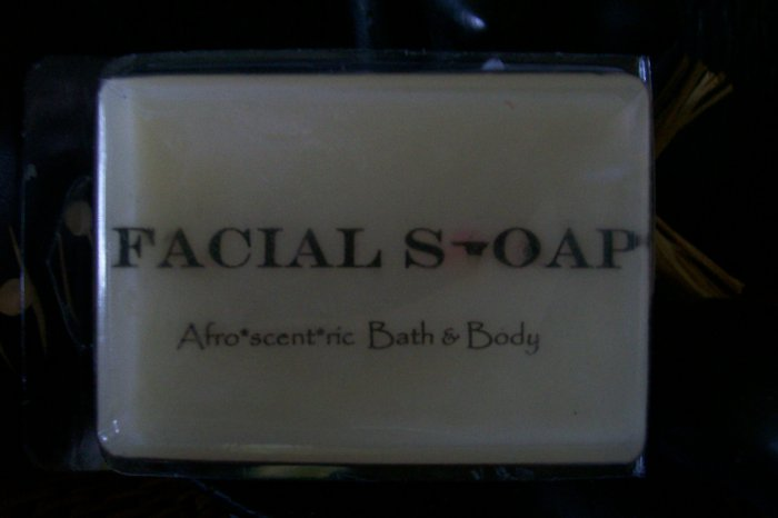 FACIAL SOAP   used for dry skin for moisturizing