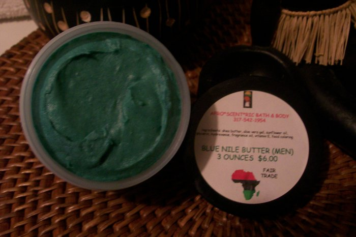 MEN'S BLUE NILE BUTTER® the REAL whipped shea butter, feet, hands, manicure, pedicure