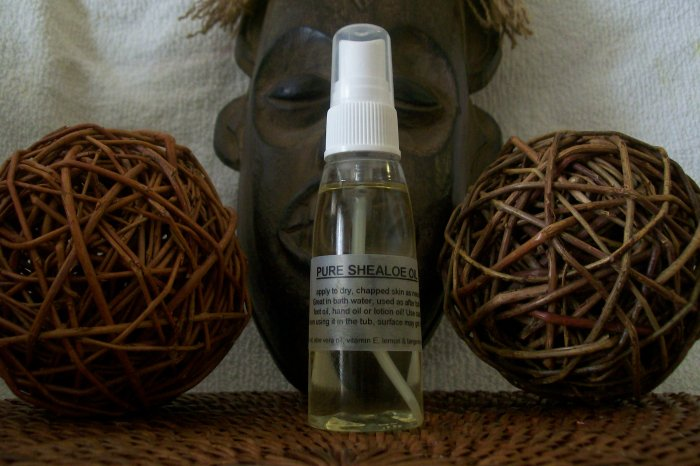 SHEA -N- ALOE SHEALOE OIL - DEEP moisturization for your skin- VEGAN shea butter