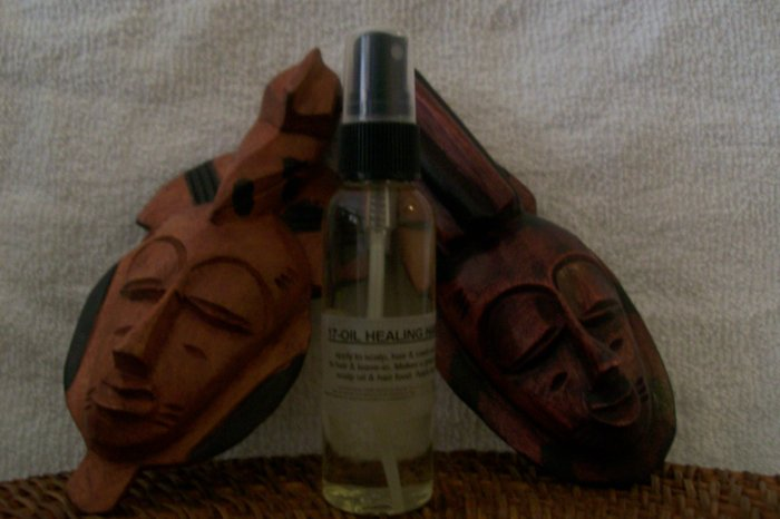 17-OIL HEALING HAIR N SCALP OIL®, -shea butter, hair, shampoo, conditioner, bath, shower, treatment