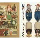 12 Changelings Victorian Paper Doll Toy - download now
