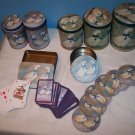Set of Geese Tins, Coasters, Playing Cards