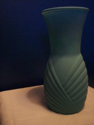 Art Deco Teal Vase