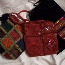 Three Hippie Purses