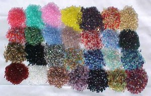 Huge Wholesale Lot 3 & 4mm Glass Beads Vintage Czech FP