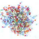 300 Primary Mix Color Fire Polish Czech Glass Beads 3mm
