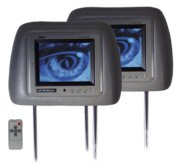 "Pyle Pair 5.6"" TFT Headrest Monitor Grey"