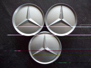 Mercedes Benz wheel center caps