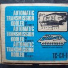 C4 Ford/Mercury Auto trans pan with cooler