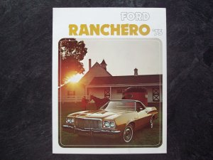 1975 Ford Ranchero sales brochure