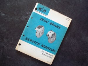 Kelsey-Hayes Disc Brake Service Manual 1969