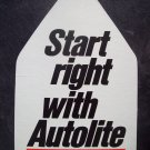 Vintage Autolite sign-New Ford Mustang Torino Maverick Ranchero.Pinto
