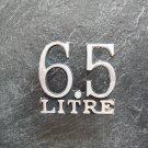 Cougar 6.5 Liter emblem