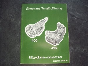 GM 400 425 Hydramatic manual