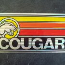 Mercury Cougar license plate