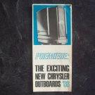 Chrysler outboards 1966 brochure