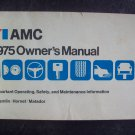 1975 Matador owners manual