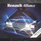 1983 Renault Alliance owners manual