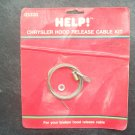 Chrysler hood release cable kit