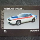 Great Hemis Mopar collector cards