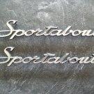 Hornet Sportabout emblems