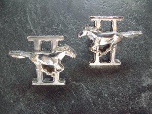 Ford Cobra Mustang II emblems