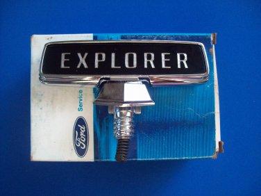 Ford Truck Explorer hood ornament emblem EOTZ-16850-B