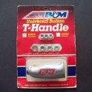 B&M button shift handle knob kit 80658