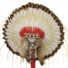 1875-Era Native American Indian Traditional Warbonnet Headdress