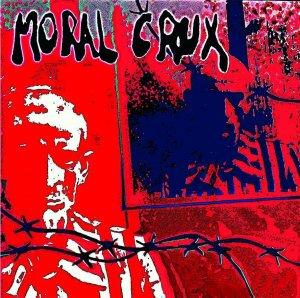 Moral Crux - S/T (Red w/ Black)