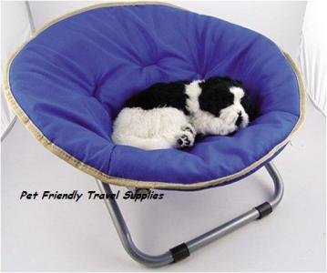 Flipo Comfort Suspension Bed Round Nylon Pet Moon Chair
