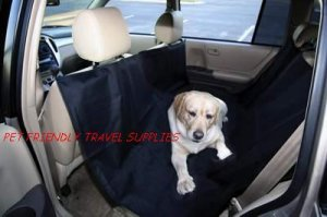 Outward Hound Back Seat Dog Pet Hammock Auto Car Cover