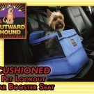 Outward Hound Nylon Pet Lookout Medium Car Booster Dog Seat holds pets up to 30 lbs.