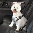 Cruising Companion Houndstooth Auto Car Safety Dog Harness Small Medium