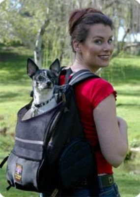 Outward Hound Backpack Pet Dog Carrier Back Pack holds pets up to 20 lbs.