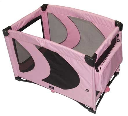 Pet Gear Home 'N Go Pet Pen Dog Puppy Play Area ~ Pink 36 x 24 x 26