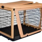 "Pet Gear Deluxe Steel Dog Crate 36"" Medium Kennel Home The Other Door"