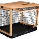 "Pet Gear Deluxe Steel Dog Crate 42"" Large Kennel Home The Other Door"