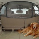 Solvit Net Pet Barrier Secures Dog Safely in Rear of Vehicle