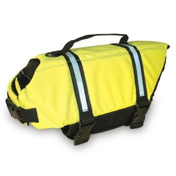 SOLD OUT Paws Aboard Neon Yellow Dog Safety Life Jacket Vest Preserver Small