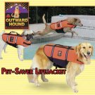 Outward Hound Pet Saver Dog Life Jacket Vest Safety Preserver X-Large