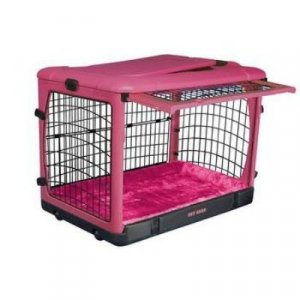"Pet Gear Steel Dog Crate Kennel The Other Door 27"" Small lavender blue pink sage brick"