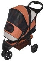 Pet Gear Sportster Edition Pet Dog Stroller Mango or Lilac holds pets up to 45 lbs.