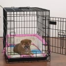 Slumber Pet Baby Bumper Embroidered Crate Kit for Pets Size Medium