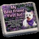 Best Friend First Aid Kit - Hardshell Case for Home or Travel